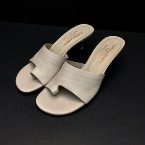 Donald J. Pliner Stone Nubuck Sana Heeled Sandals